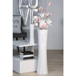 Váza MOT, 33 cm - biela