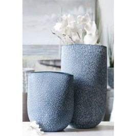 Váza ROFF, 35 cm - modrá