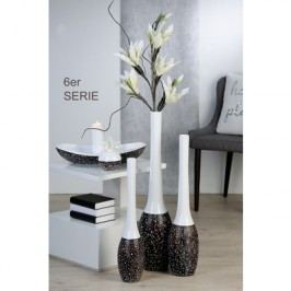 Váza GENES, 80 cm - hnedá
