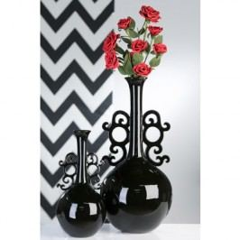 Váza BAROK, 60 cm - čierna