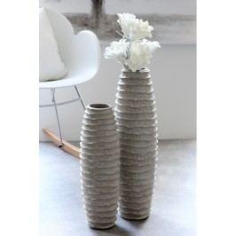 Váza SHARE 68 cm - sivá
