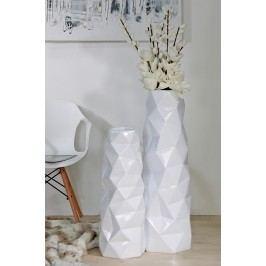 Váza TROPLE 92 cm - biela