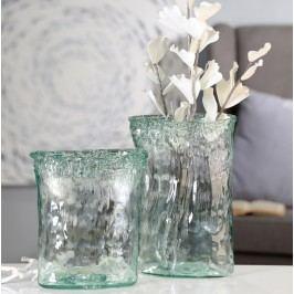 Váza FLARER 27 cm - číra