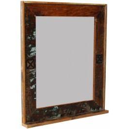 OLDTIME BAD Zrkadlo indické staré drevo, lakované