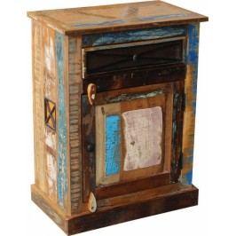OLDTIME BAD Komoda indické staré drevo lakované