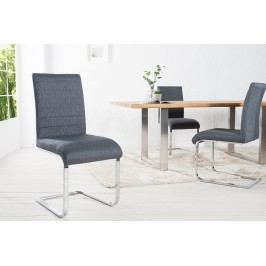 Stolička STUART - sivá