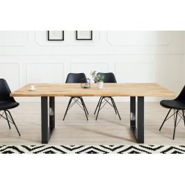 Jedálenský stôl WOTANA 200cm - čierna