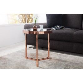 Konferenčný stolík ART DECO 50 cm - čierna, medená