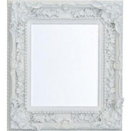 Barokové zrkadlo ELLIS - biela
