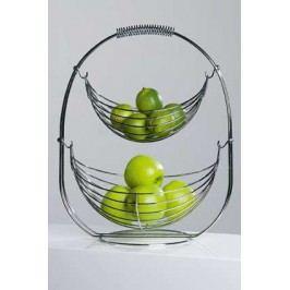 Košík na ovocie SHAKY - chromová