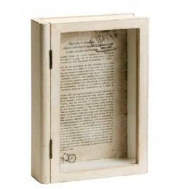 Drevená kniha - biela