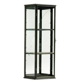 Vitrína, 95 cm  - čierna