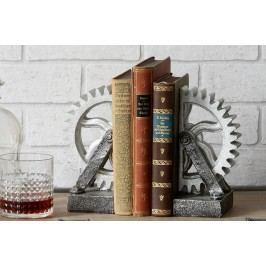 Držiak na knihy BOOKS - strieborná