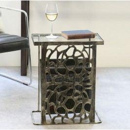 Príručný stolík ELI, 55 cm - hnedá