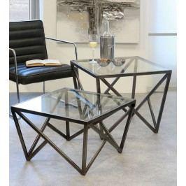 Konferenčný stolík LOF, 51 cm - antracitová