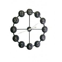Nástenné hodiny ATI - čierna