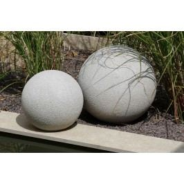 Dekoratívna guľa SALVA, 40 cm - sivá