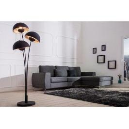 Stojáca lampa STADI, 170 cm - čierna, strieborná