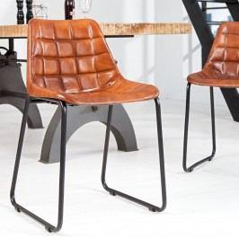 Stolička TAUR, 80 cm - hnedá