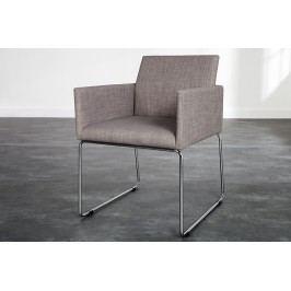 Stolička LIVO - sivá