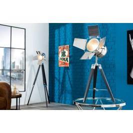 Stolná lampa HOLLY, 65 cm - čierna, strieborná