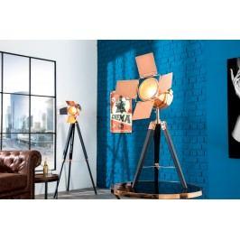 Stolná lampa HOLLY, 65 cm - čierna, medená