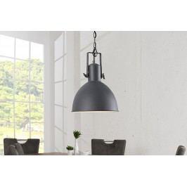 Závesná lampa FACTOR II, 40 cm - sivá, biela