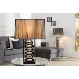 Stolná lampa GRACIE, 55 cm - čierna, strieborná