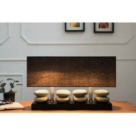 Stolná lampa RIVESTO, 55 cm - čierna