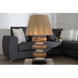 Stolná lampa NASTO, 60 cm - hnedá