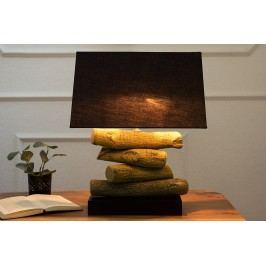 Stolná lampa TERO, 50 cm - čierna