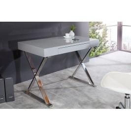 Písací stôl BRACE 100 cm - sivá