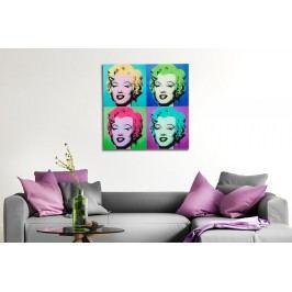 Obraz POP ART 60x60 cm - sklo
