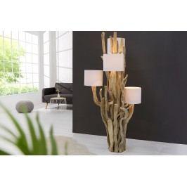 Stojaca lampa LIFETREE 150 cm - biela