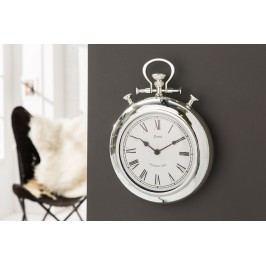 Nástenné hodiny OLD TIMES 35 cm - chrómová