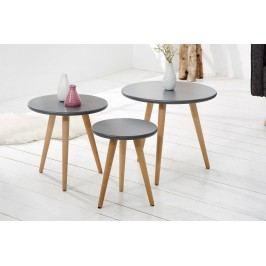 Priručné stolíky 3 - sivá