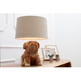 Stolová lampa DOGGY 50 cm - hnedá