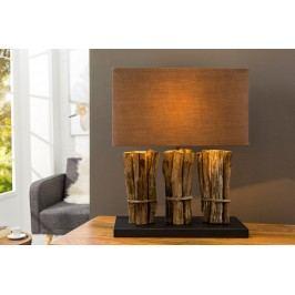 Stolná lampa MATUR - hnedá