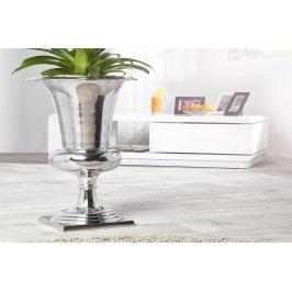 Váza SHINY 75 cm - strieborná