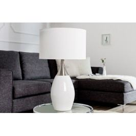Stolná lampa CARLY 60 cm - biela