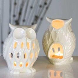 Svietnik OWL - biela