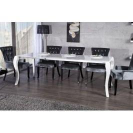 Jedálenský stôl STORFOSNA 170-230 cm - biela