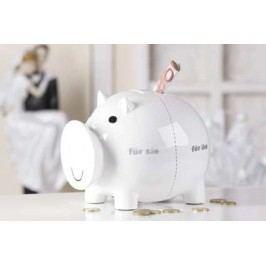 Pokladnička PIG - biela