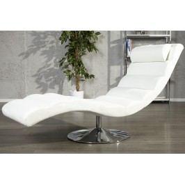 Relaxačné kreslo RELAX WHITE - biela