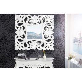 Zrkadlo na stenu BAROQUE S WHITE - biela
