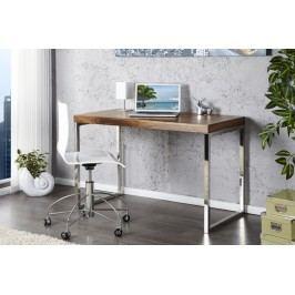 Písací stôl SHINE - hnedá