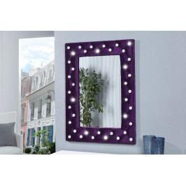 Nástenné zrkadlo BOUTIQUE L - fialová