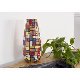 Masiv24 - DEKOR Váza 40 cm, viacfarebná