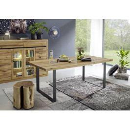Masiv24 - VEVEY Jeálenský stôl 160x90, prírodná, dub
