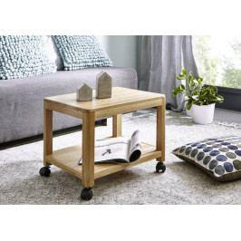Masiv24 - VIENNA Servírovací stolík 50x40 cm, dub